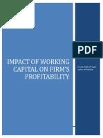 impactofworkingcapitalonfirmprofitability-131202100311-phpapp02