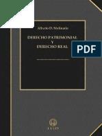 Derecho Patrimonial y Derecho Real - Alberto d. Molinario