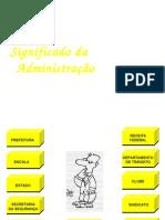 3- Significado Administração