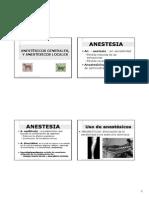 Anestesicos Sistema Nervioso