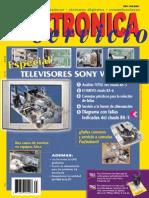 Electronica y Servicio N°63-Televisores Sony Wega