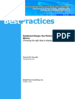 Dashboard Design - Key Performance Indicators and Metrics