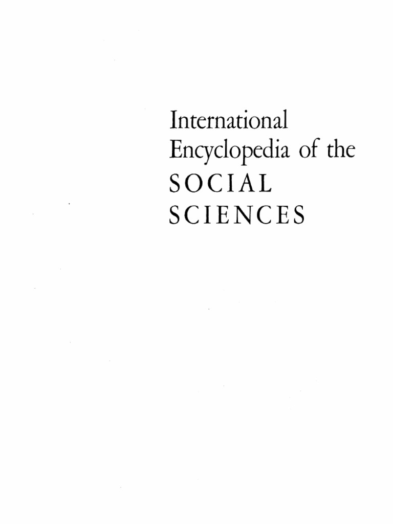 International encyclopedia of the social sciences v4 david l sillspdf fandeluxe Images