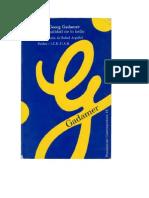 Gadamer, La Actualidad de Lo Bello