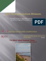 2013 NENPA Photojournalism Winners