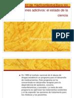 Desarrollo de medicamentos para los desordenes adictivos.pptx