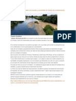El río Atoyac (Oaxaca) abandono y Rescate