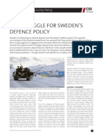 The Struggle for Sweden_s Defence Policy