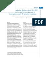 isoterápicos a partir de secreções purulentas Utilização de glicerina diluída e álcool 70% @12oK