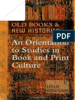 Howsam, L - Old Books and New Histories, An Orientation to Book & Print Culture (Toronto, 2006)
