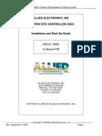 ARCO ANDI Wayne PIB Installation and Start Up Guide