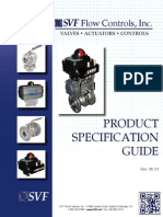 SVF Product Specification Guide 2013