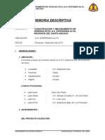 003 Memoria Descriptiva Esperanza Alta