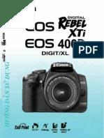 Huong Dan Su Dung Canon EOS 400D (Vietnammese)