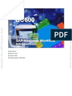 BC600 SAP Business Workflow Introduction