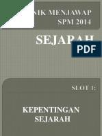 Bhn Ceramah Sejarah SPM 2014