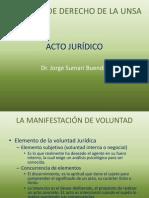 Acto Juridico Voluntad III