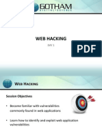 Web Hacking Day 1 - 2011
