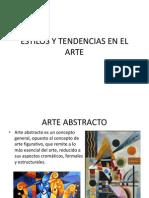 Estilos y Tendencias en El Arte