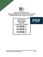 Spm Chemistry  Trial 2009 MS Sbp
