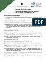 Temario Descriptivo Evaluacion Montador Mecanico