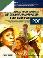 Estado Pluricultural en Guatemala