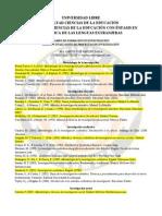 02 24 2014 - Sugerencias Bibliografía inicial y básica