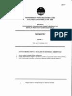 Spm Chemistry Trial 2009 Perlis