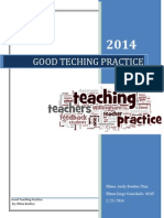 Good Teaching Practice by Rhina Benitez