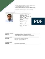 Curriculum Actualizado Febrero 2014