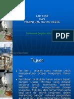 Jar-test Penentuan Koagulan