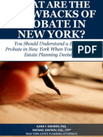 What Are the Drawbacks of Probate in New York?