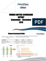 HR Scorecard Report