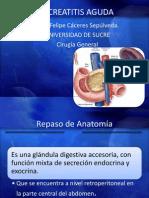 Pancreatitis Aguda en Cirugia
