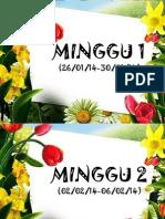 Divider Mingguan Buku Rph
