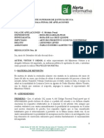 Expediente 00388 2012 ICA