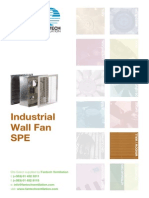 Industrial Wall Fan SPE FV