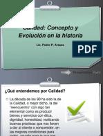 Historia Calidad