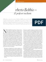 Norberto Bobbio, El Profesor Vacilante