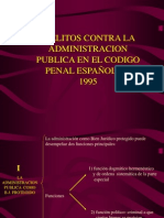 Diapositivas Contra La Administracion Publica