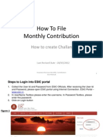 esi contribution instruction