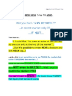 Nifty to Make New High Report-and PMS1 Performance-