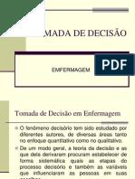 TOMADA DE DECISÃO EM EMFERMAGEM