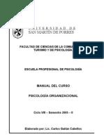 8º Psicología Organizacional