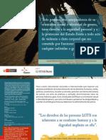Guía informativa sobre discriminación y crímenes de odio de ciudadanas lesbianas, trans, gais y bisexuales