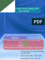 Fluid and Electrolytes, Burns, G.U.