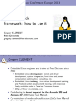 Common Clock Framework How to Use It