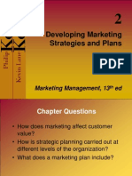 Chapter 2- Developing Mkt Strategies