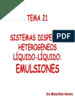 Emulsion Es