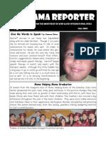 Llama Reporter - Fall 2009
